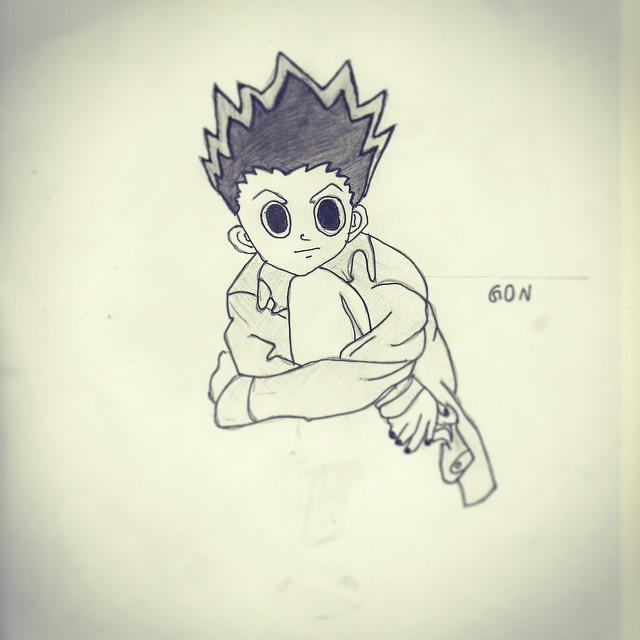 Sniper Anime Art Paint Pencil Painting Dessin
