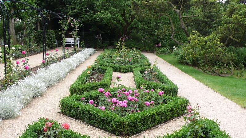 The Picturesque Garden of the Museum van Buuren in Brussels, BELGIUM