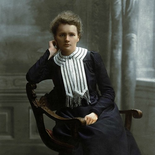 a report of marie and pierre curie on the discovery of polonium and radium Marie curie (1867-1934) was one  polonium and radium  - the personal scandal that surrounded marie in the aftermath of pierre's tragic death.