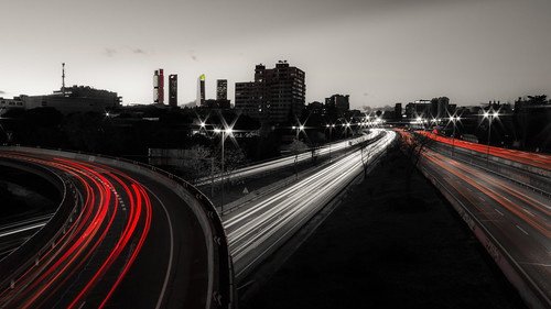 M30 Traffic light trails | by Ant_S95