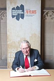 Signing the Holocaust Book of Commitment | by bobneillbc
