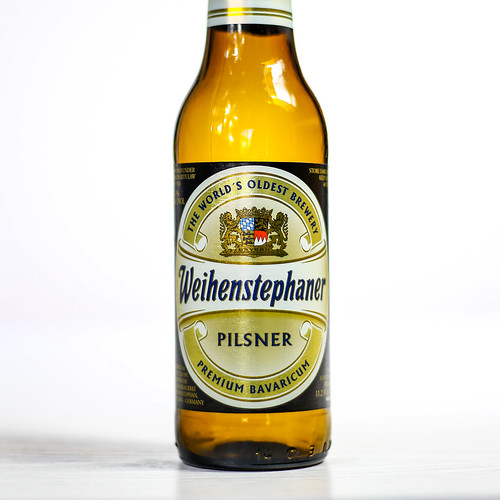 Pilsner Showdown Beers - Bayerische Staatsbrauerei Weihenstephan - Weihenstephaner Pils | by fourbrewers