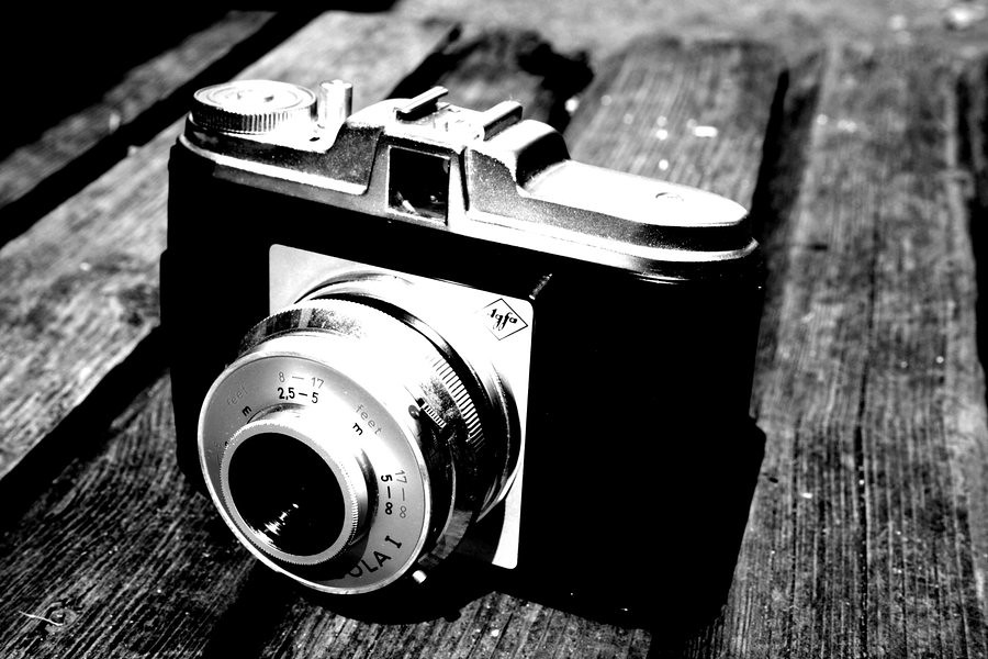 Photography camera black and white 4k wallpaper by tapeper