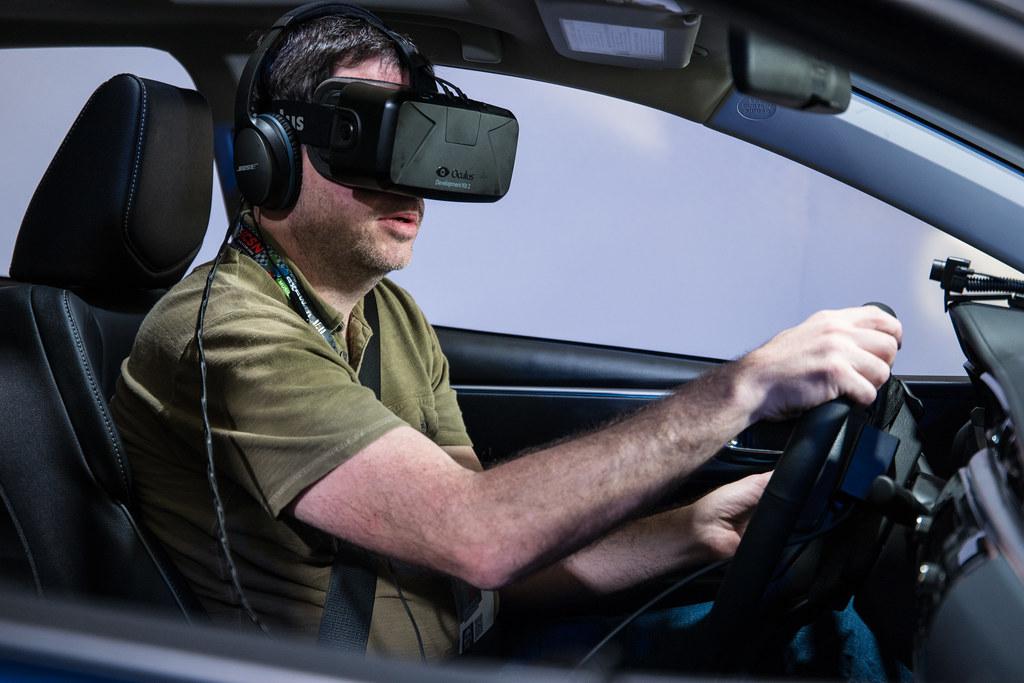 virtual reality driving