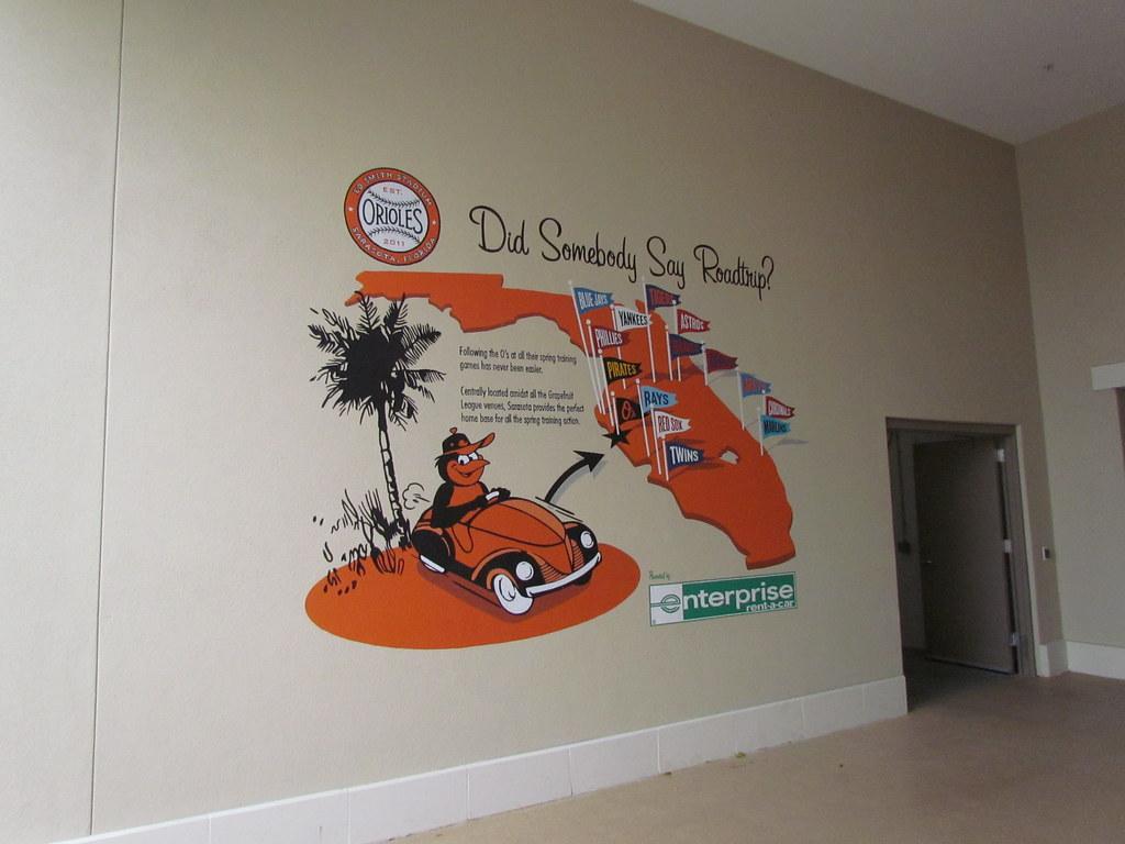 Grapefruit League Map at Ed Smith Stadium -- Sarasota, FL,…   Flickr