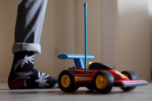 fisher price racing car | by echt.jut