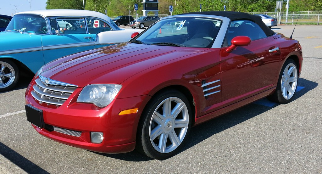 at screen collectable shot chrysler crossfire pm future convertible