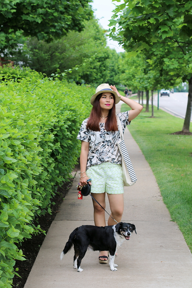 J-Crew-top-shorts-Premium-outlets-look-1