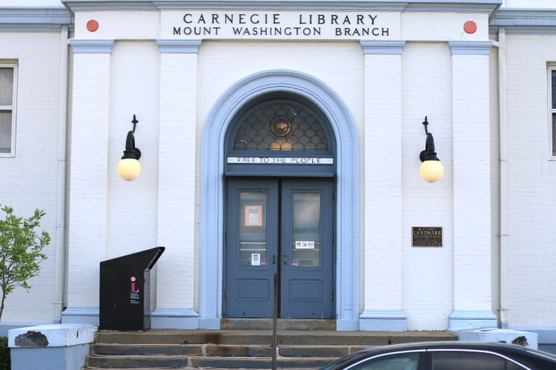 Mount Washington, Pittsburgh, overlook, grand view, travel, visit, Carnegie library