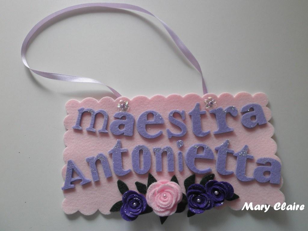 maestra Antonietta