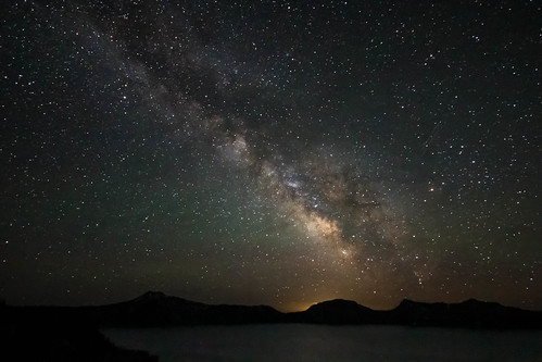 Milky Way over Crater Lake | by W. Tipton