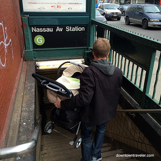 Baby on NYC Subway | by Downtown Traveler