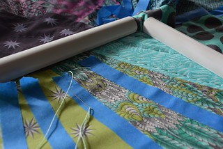 Quilting by hand the Wheel quilt | by Sew Kiwi