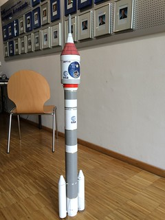 Ariane 6 model rocket | by ESA_events