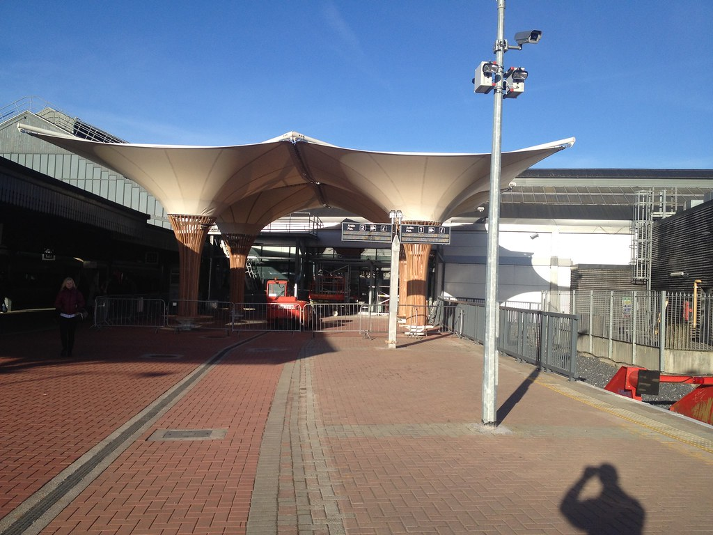 "new canopy kent station cork. | this ""canopy"" is an absolute… 