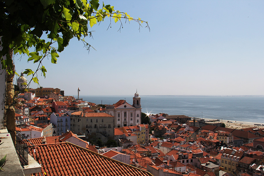 Lissabon näköalapaikat Santa Luzia