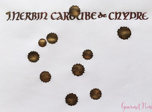 Ink Shot Review J. Herbin 1670 Caroube de Chypre @BureauDirect3724_WM