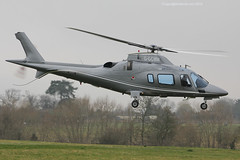 G-GCMM - 2002 build Agusta A109E Power, visiting the 2015 Cheltenham Festival