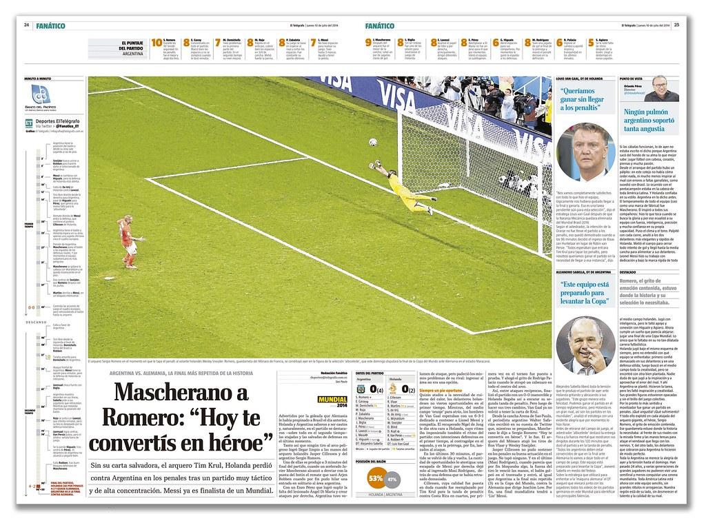 """Mascherano a Romero: """"Hoy te convertís en héroe"""" (Mascherano Romero: """"Today you become a hero"""")"""