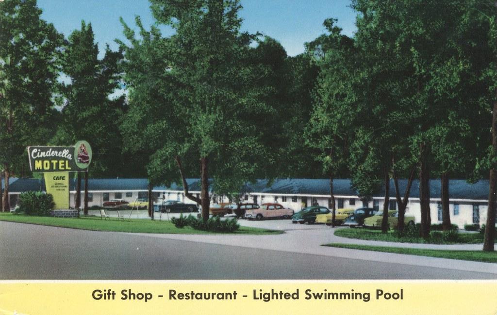 Cinderella Motel & Restaurant - Prattville, Alabama