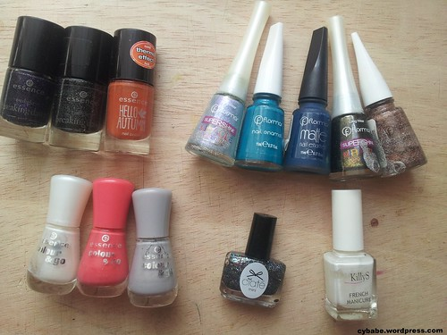 nailpolish collection remove