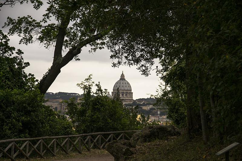 San Pietro visto da Villa Mazzanti