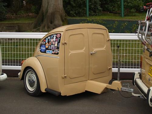 half a Volkswagen Beetle trailer   Volksworld 2015 looks lik…   Flickr