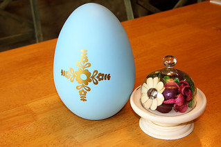 Flower Jumbo Easter Egg Decor | by Maggie Muggins Designs