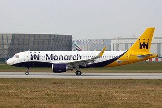 F-WWDS // Monarch // A320-214SL // MSN 6550 // G-ZBAS | by Martin Fester