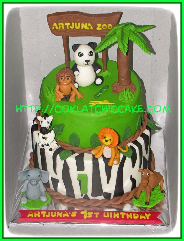 Cake Jungle Animal