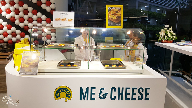 Siam Discovery Me & Cheese Tart stall