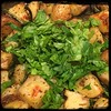 #Roasted # Potatoes & #Scapes  #Homemade #CucinaDelloZio - add fresh parsley