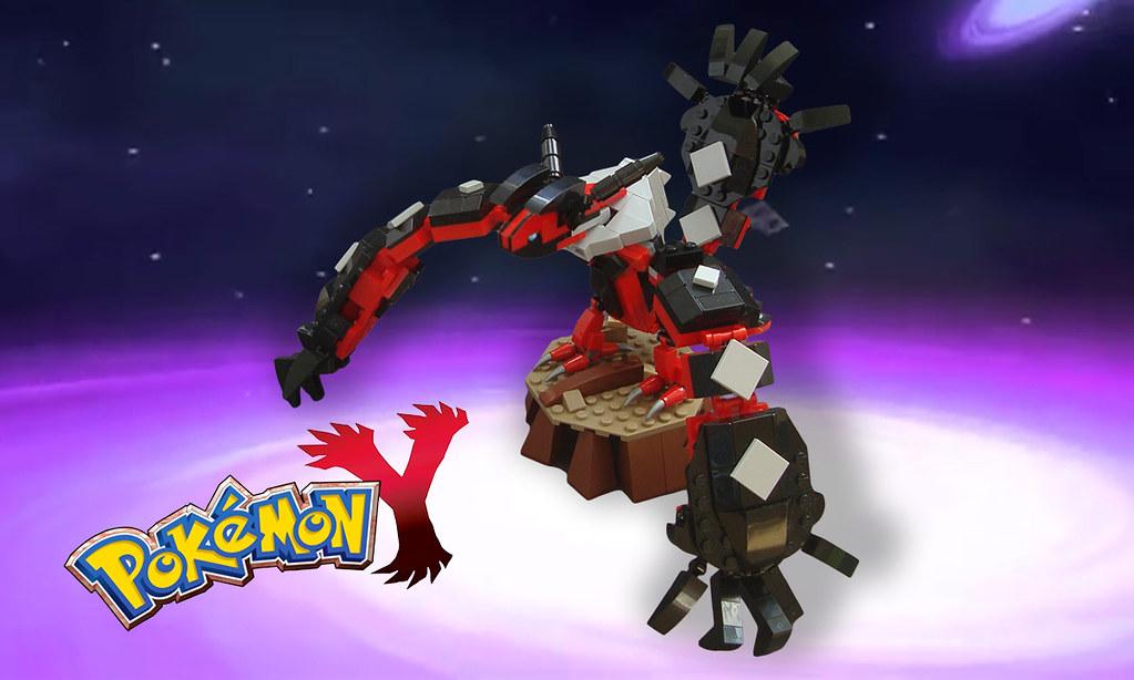 Lego Pokemon A Yveltal Encounter Yveltal Final For B Flickr