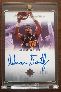 2007-08 Ultimate Collection Signatures #AD Adrian Dantley /50 | by milkowski.pawel