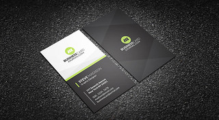 Clean & Nifty Corporate Business Card Template | by Meng Loong