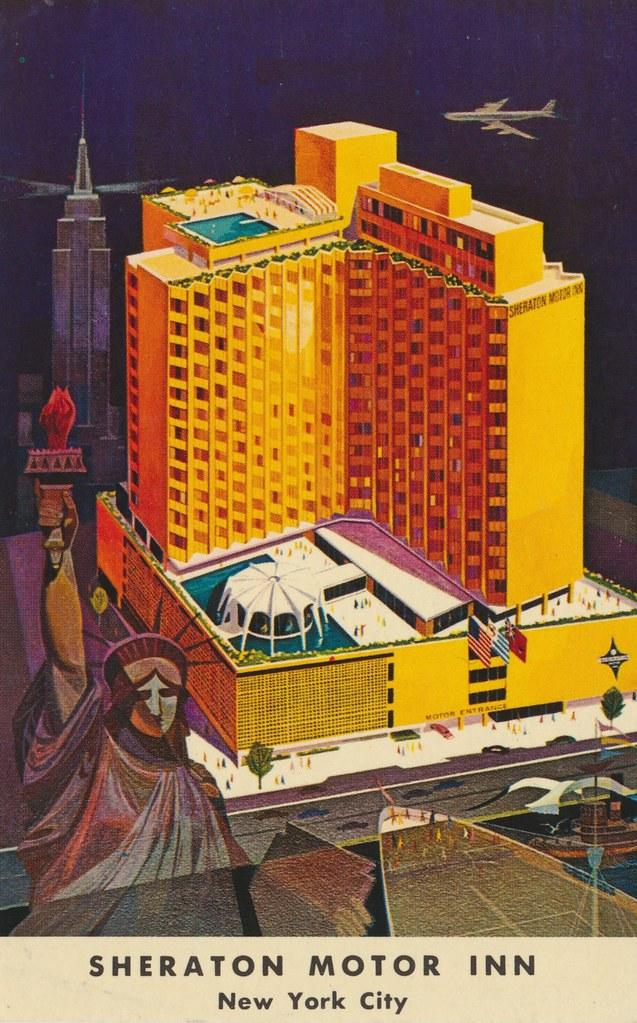 The Cardboard America Motel Archive Sheraton Motor Inn