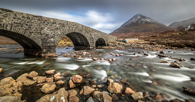Sligachan bridge, Isle of Skye, Scotland, United Kingdom