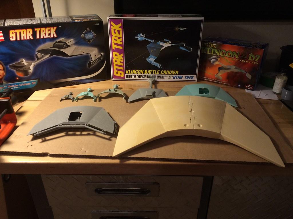 Klingon D7: Studio Sca...