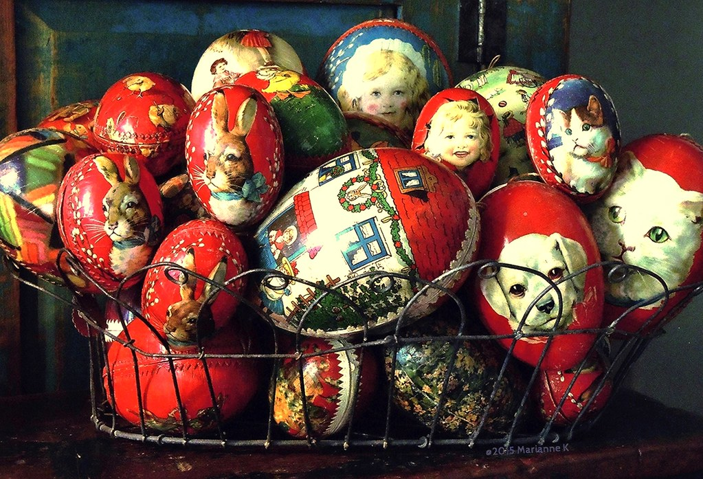 A Pictorial History Of Vintage Antique Paper Mache Easter Flickr