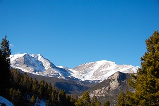 Driving by Long's Peak | by greggburch