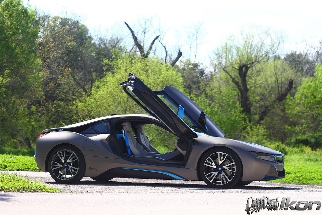 Bmw I8 Wrapped In Brand New Avery Dennison Giovanna Matte Flickr