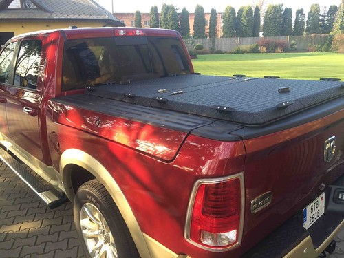 New Ram Truck >> A Black Aluminum Tonneau Cover On A Dodge RamBox | A Red Dod… | Flickr