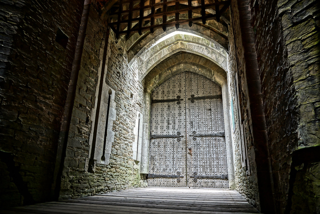 ... Caerphilly Castle Door | by an1uk & Caerphilly Castle Door | Alan Newman - An1 Photography | Flickr
