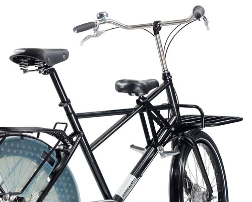 WorkCycles Fr8 Crossframe Papa 2015 Child Saddle rechts-achter