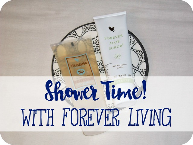 Shower-Time-with-Forever-Living