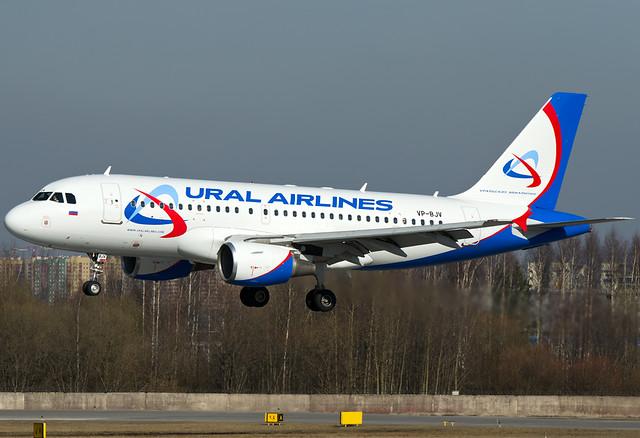 VP-BJV Ural Airlines Airbus A319-112