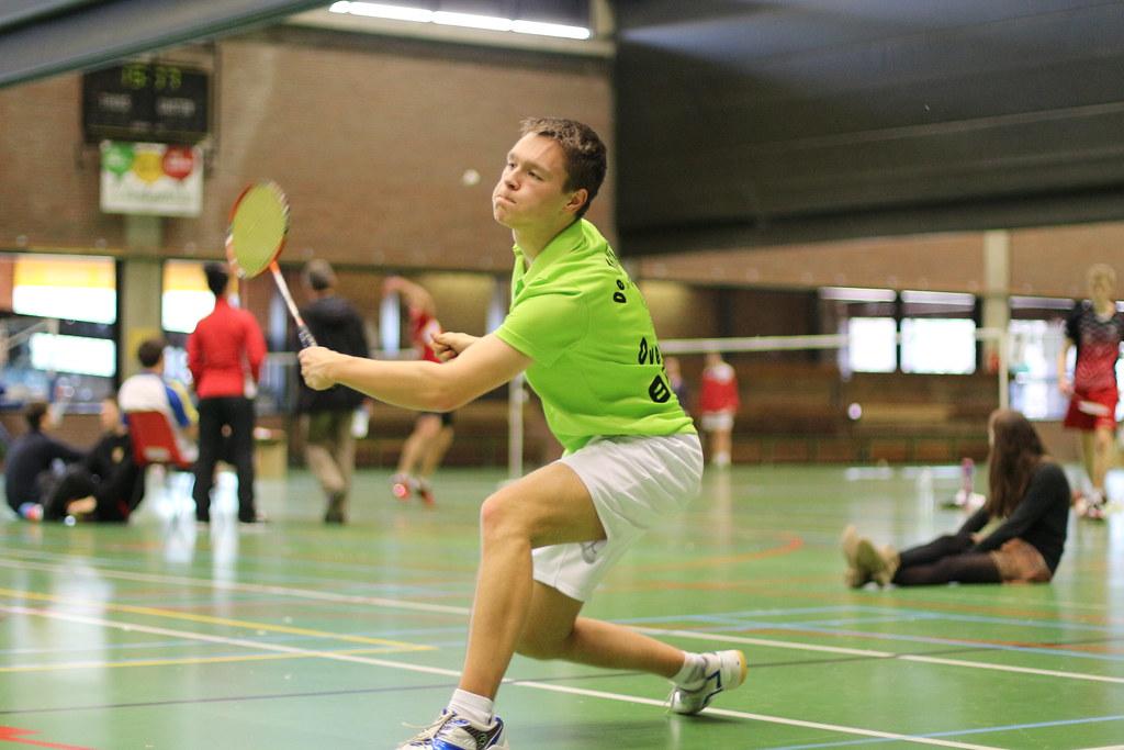 Badmintontoernooi Halle 2015