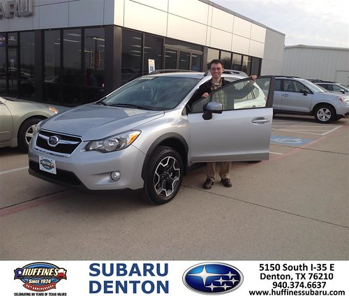 Congratulations To Neil Harrison On Your Subaru Xv Cross