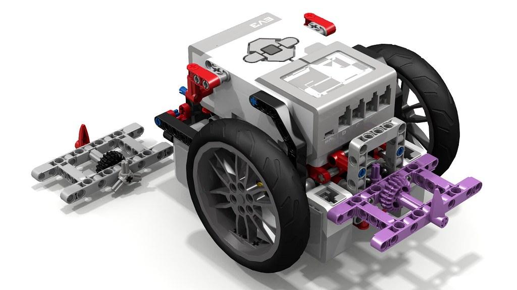 "Sirius"" FLL Robot 2015 by Builderdude35 | ""Sirius"" is a ver… | Flickr"
