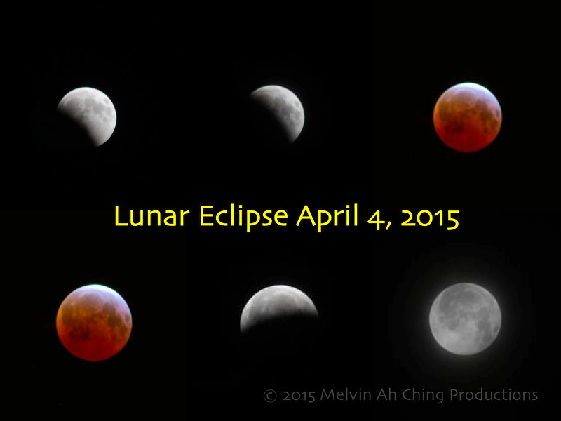 April 4 Lunar Eclipse Sequence